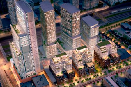 Toronto and Greater Vancouver see high-rise construction progress, a plan and an approval.