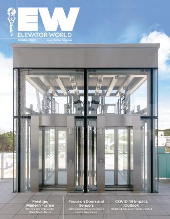 Elevator World   October 2020 Cover