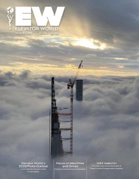 Elevator World | November 2020 Issue Cover