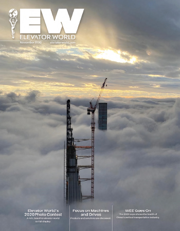 Elevator World   November 2020 Issue Cover