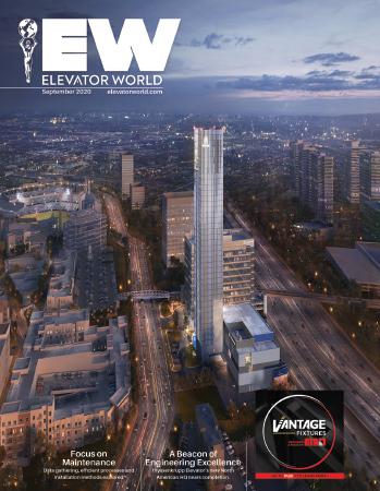 Elevator World   September 2020 Cover