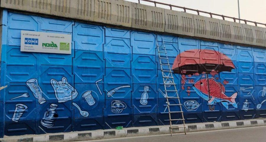 KONE-Mural