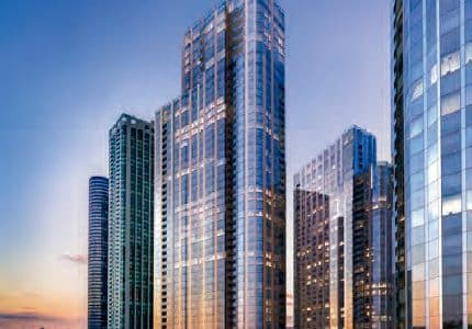 Developers-Obtain-Loans-for-Pair-of-Chicago-Towers