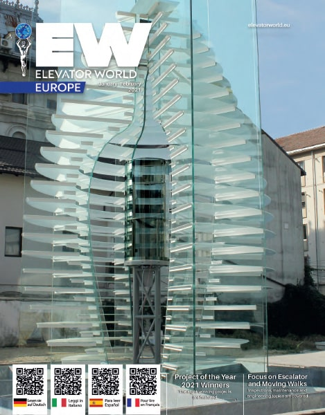 Elevator World Europe | January - February 2021 Cover