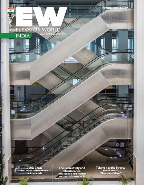 Elevator World India | 4th Quarter 2020 Cover