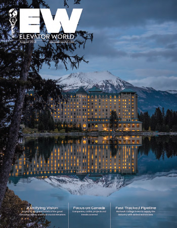 Elevator World | August 2020 Issue Cover