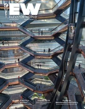 Elevator World | January 2020 Cover