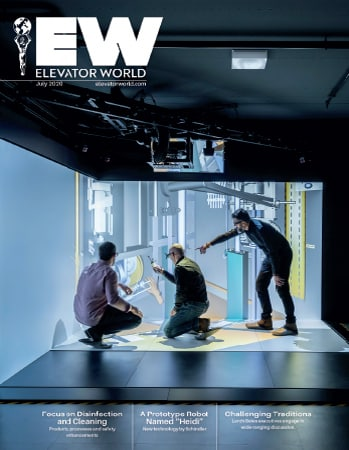 Elevator World | July 2020 Issue Cover