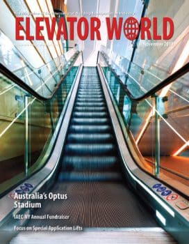 Elevator World | November 2019 Cover