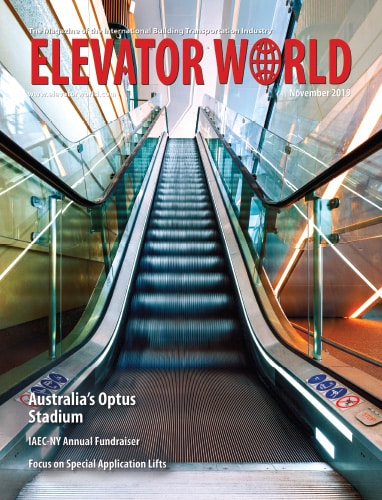 Elevator World   November 2019 Cover