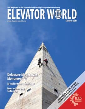 Elevator World | October 2019 Cover