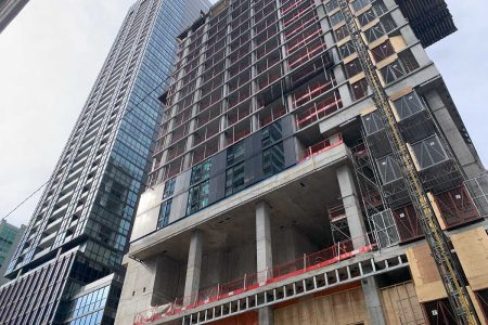 357 King West Quickly Rising in Toronto