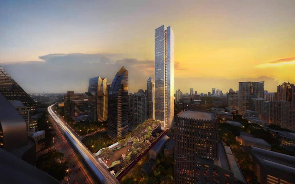 61-Story Office Tower Envisioned as New Bangkok Landmark