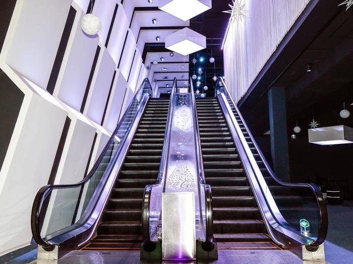Bulgaria Sofia Joystation Escalators