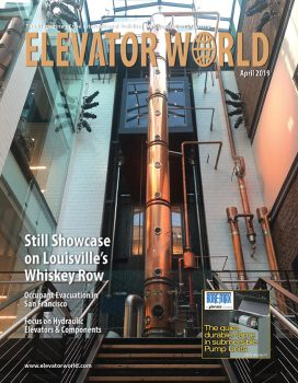 Elevator World | April 2019 Cover