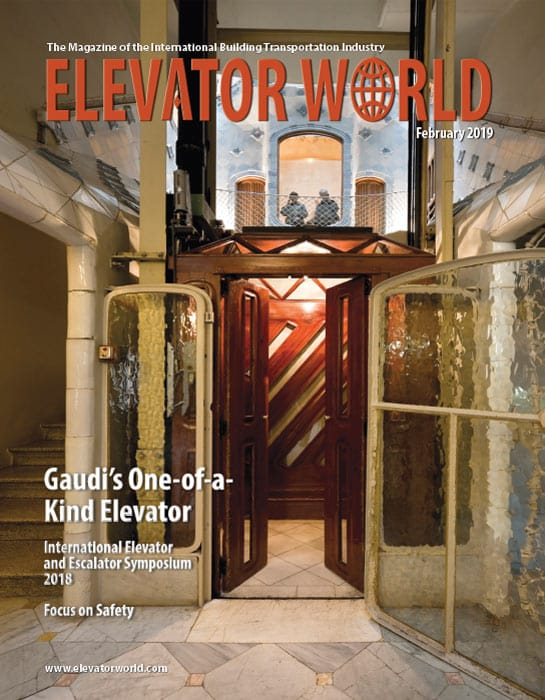Elevator World   February 2019 Cover