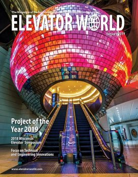 Elevator World | January 2019 Cover