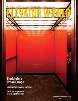 Elevator World | July 2019 Cover