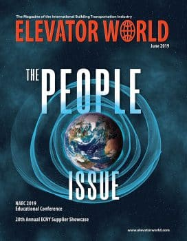 Elevator World | June 2019 Cover