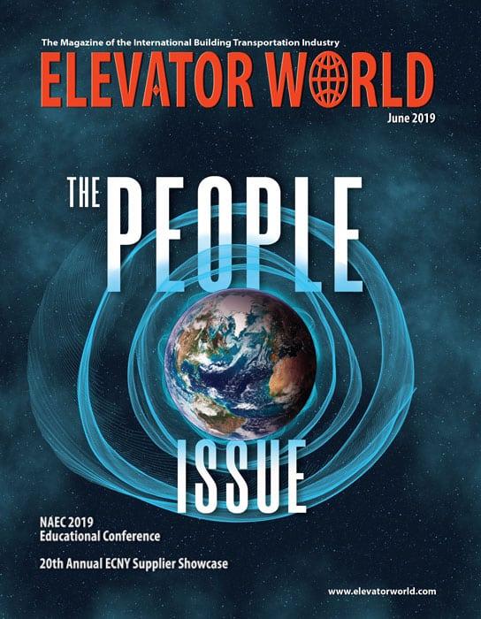 Elevator World   June 2019 Cover
