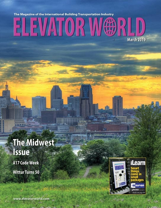 Elevator World | March 2019 Cover