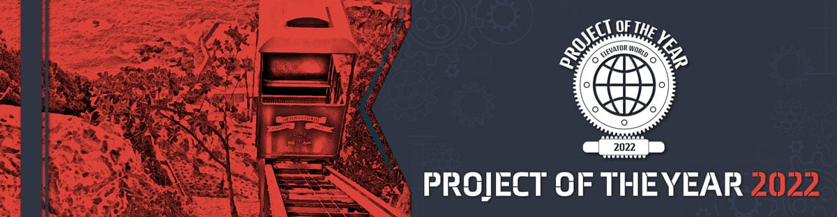 Elevator World | Project Of The Year 2022 Banner
