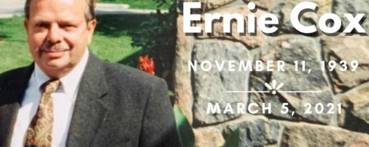 In Memoriam: Ernest James Cox