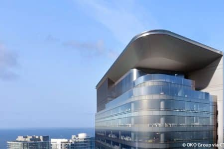 Miami Office Tower Reaches Halfway Mark