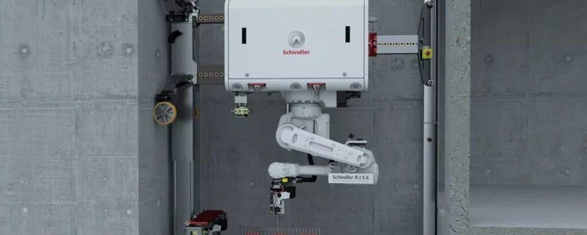 Schindler Installation Robot R.I.S.E. Deployed in Dubai