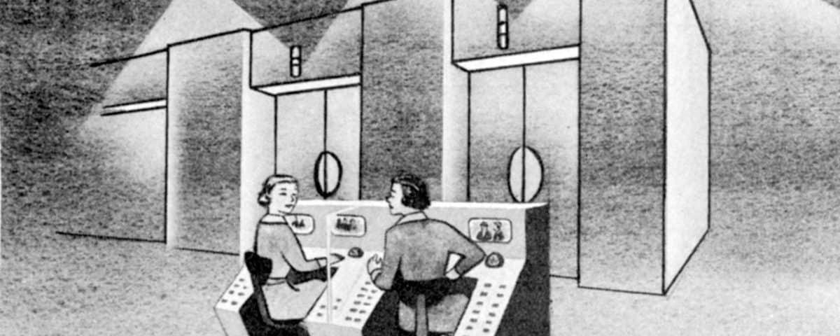 1950s Innovations in Elevator Cab Design