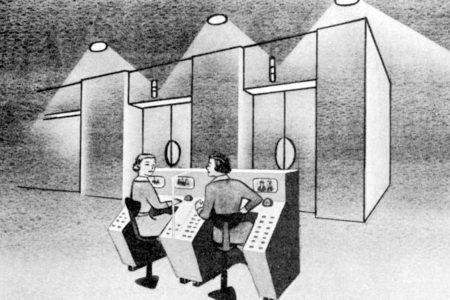1950s Innovations in Elevator Cab Design
