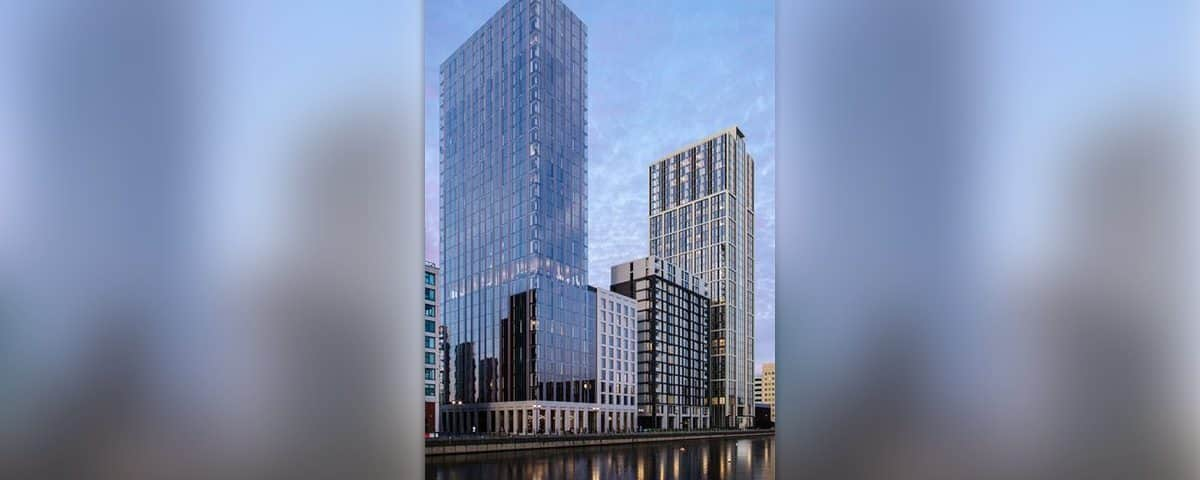 31-, 11-Story Residential Towers For Liverpool Waterfront