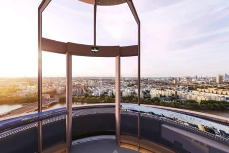 Battersea Station's Glass Elevator to Open Next Year