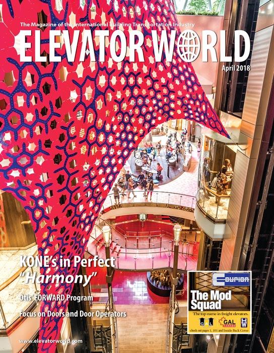 Elevator World | April 2018 Cover