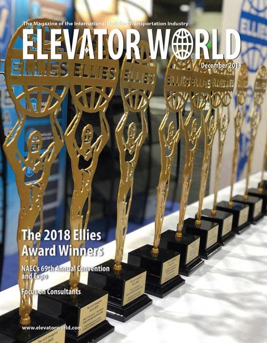 Elevator World | December 2018 Cover