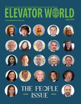 Elevator World | June 2018 Cover