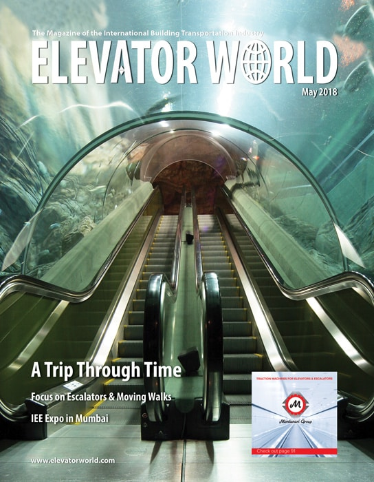 Elevator World | May 2018 Cover