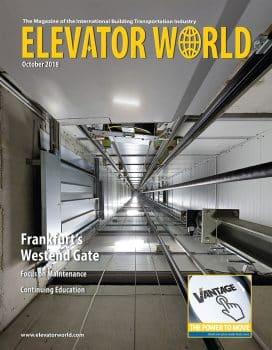 Elevator World | October 2018 Cover