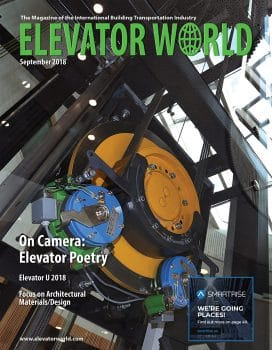 Elevator World | September 2018 Cover