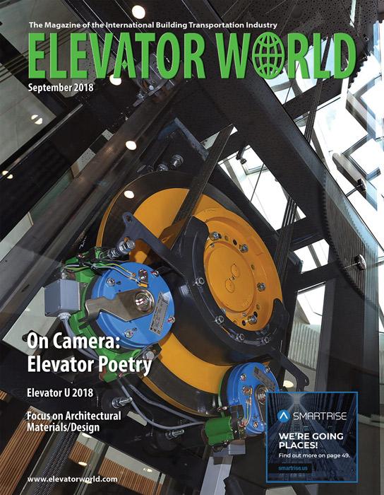 Elevator World | September 2018 Cover