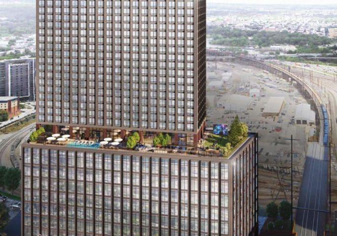 Excavation Begins on Kennedy Boulevard in Philadelphia