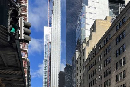 Hoist Set to Come Down At 111 West 57th Street