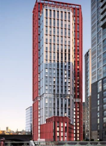 Hotel/Residential Tower Planned in Greengate, Salford