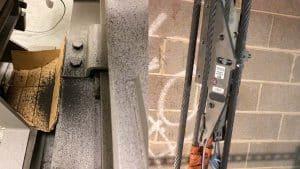 Traction Sheave Maintenance