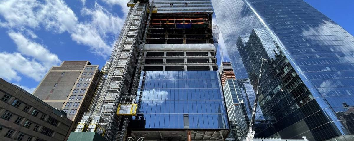 Work Continues at Two Manhattan West