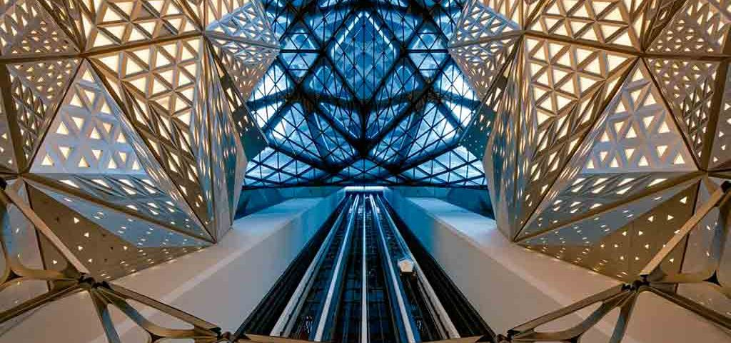 ZHAs-Masterpiece-With-Otis-Atrium-Elevators-Debuts-in-Macau