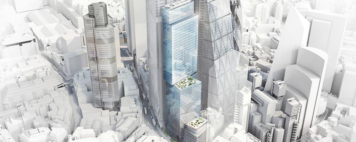 "City of London's Skyscraper Appetite Remains ""Fierce"""