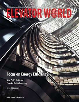 Elevator World | April 2017 Cover