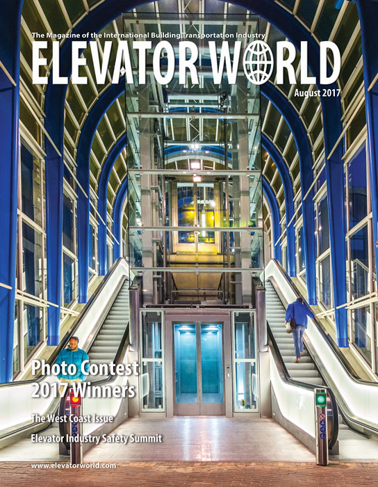 Elevator World | August 2017 Cover