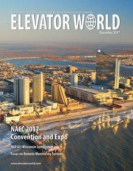 Elevator World | December 2017 Cover